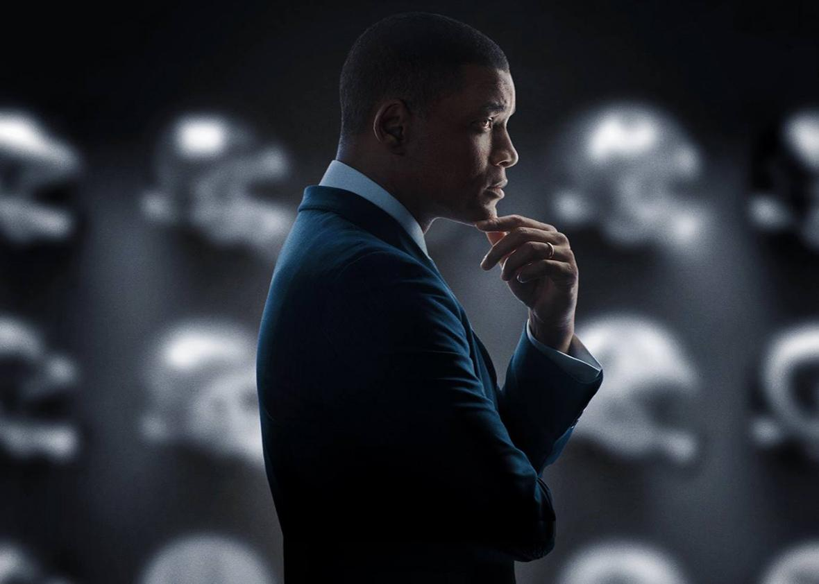 Will Smith as Bennet Omalu in Concussion.