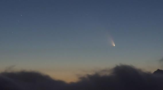 Christoph Malin shot of Comet Pan-STARRS