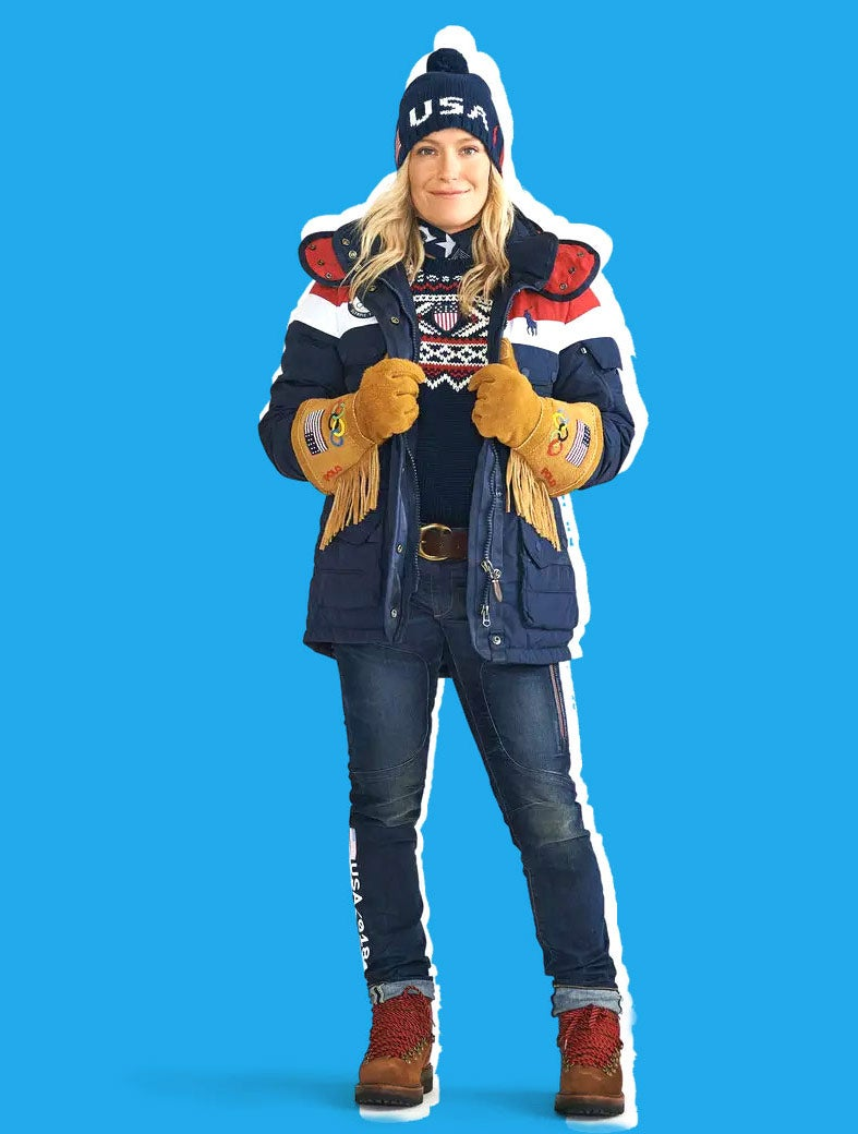USA Olympic Team outfit for 2018.