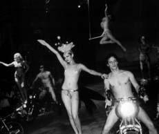 A Folies Bergere night at Studio 54, 1977