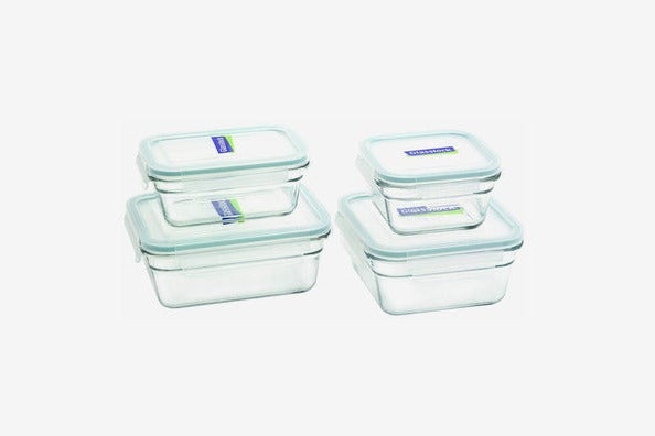 Glasslock Assorted Oven-Safe Container Set