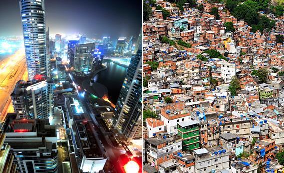 """""""Systematic"""" Dubai; """"Empathy"""" in Rio."""
