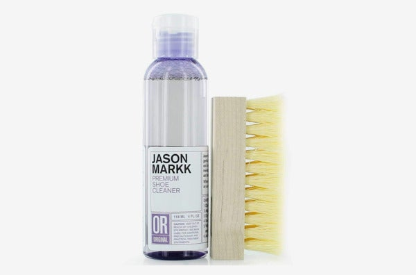 Jason Markk Premium Shoe Cleaner Brush Solution Kits.