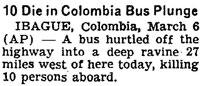 New York Times, March 7, 1964