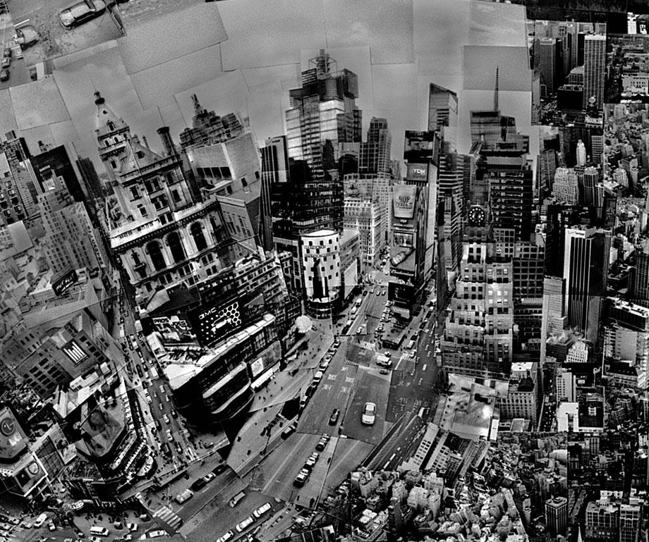 "New York (detail), from the series ""Diorama Maps,"" 2006, light jet print."