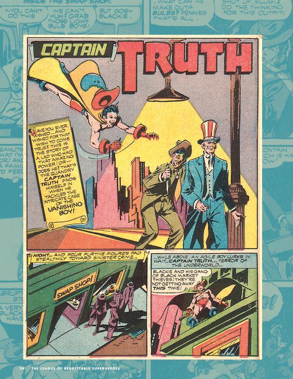 truth comic book