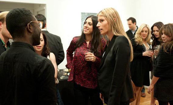 """Kerri Lisa in Gallery Girls """"Opening at Eli Klein Gallery."""""""