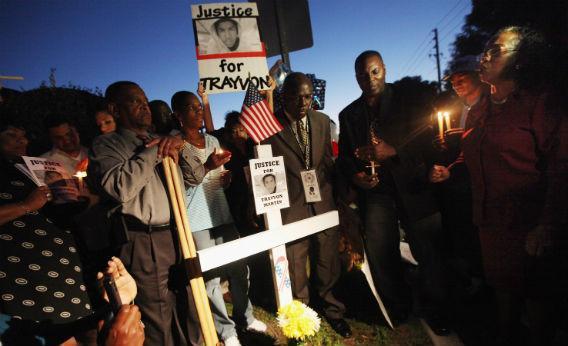 Sanford, Florida rally for Trayvon Martin.