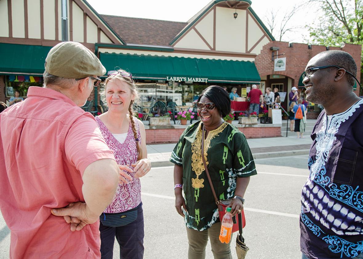 "The Village of Brown Deer ""Eat & Greet on the Street"" festival o,The Village of Brown Deer ""Eat & Greet on the Street"" festival on Saturday June 4, 2016."