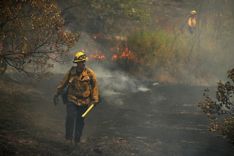 Authorities say that some people are unable to get in contact with each other because they lost their phones fleeing the Carr fire.