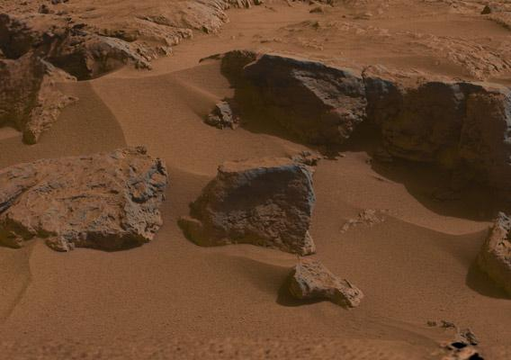 Curiosity rover picture of Mars