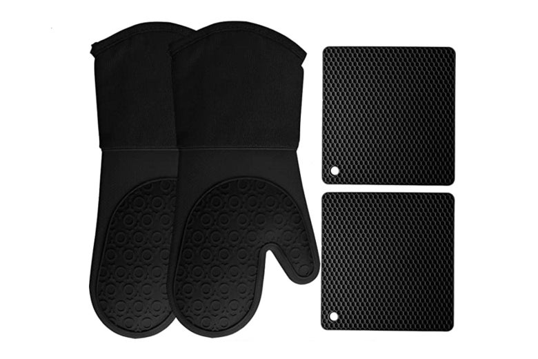 HomeWE silicone oven mitts