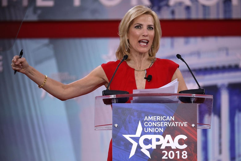 Fox News Channel host Laura Ingraham