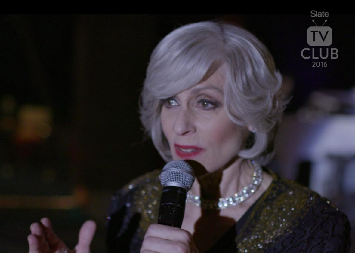 "Judith Light's cabaret rendition of Alanis Morissette's ""Hand In Pocket"""