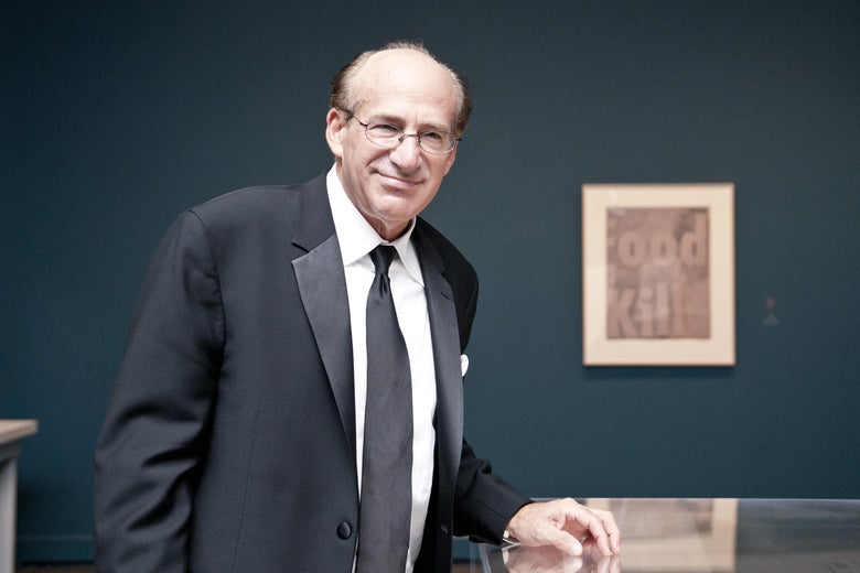 Barry Levine poses for a photo at the National Gallery of Art on October 5, 2011 in Washington, D.C.
