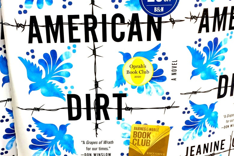The American Dirt book cvoer