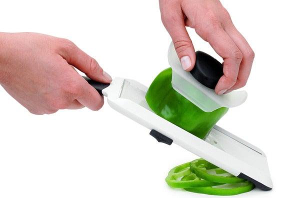 OXO Good Grips Adjustable Handheld Mandoline Slicer.