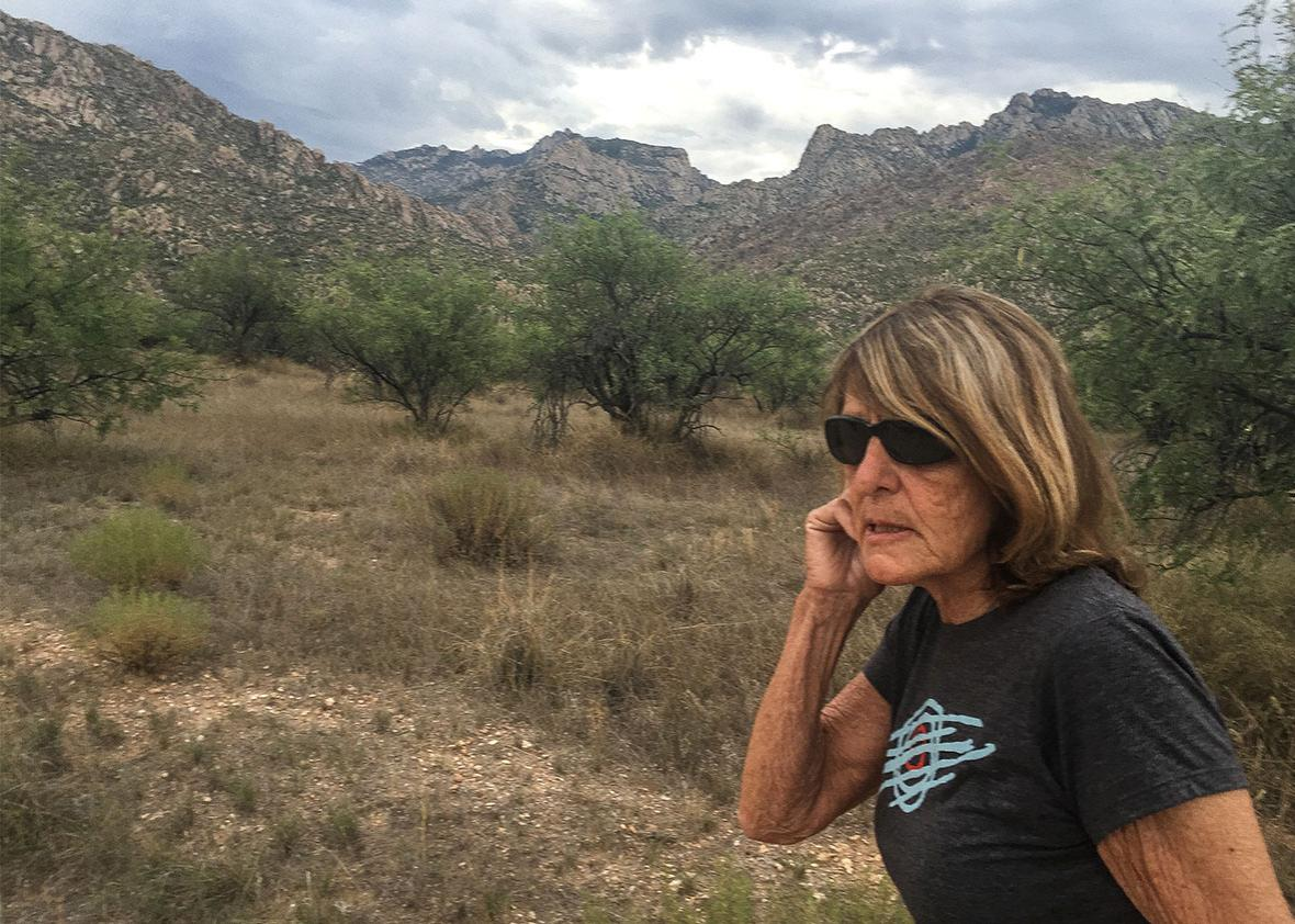 Joy Williams, Catalina State Park, Arizona, August 7, 2015.
