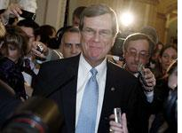 Newly elected Senate Minority Whip Trent Lott. Click image to expand.