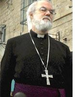 The archbishop of Canterbury. Click image to expand.