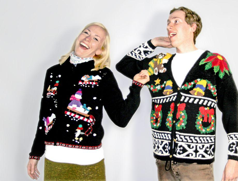 Horrible Christmas Sweaters.National Ugly Christmas Sweater Day The Holiday Fashion Is