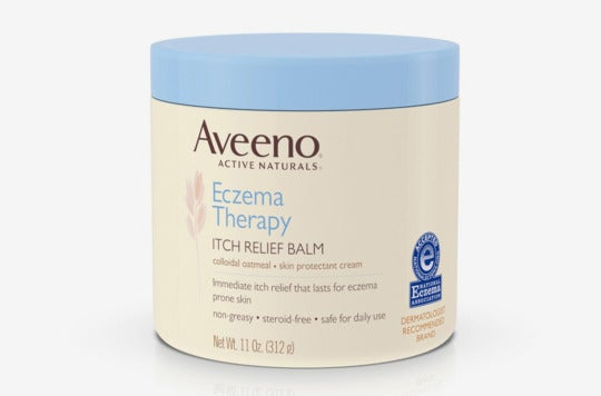 Aveeno Eczema Therapy Itch Relief Balm.