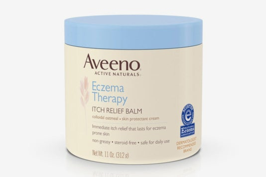 Aveeno Eczema Therapy Itch Relief Balm.