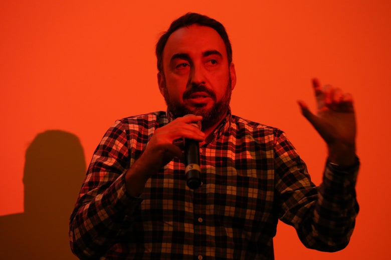 SAN FRANCISCO, CA - OCTOBER 14:  Alex Stamos speaks at WIRED25 Festival: WIRED Celebrates 25th Anniversary – Day 2 on October 14, 2018 in San Francisco, California.  (Photo by Phillip Faraone/Getty Images for WIRED25  )