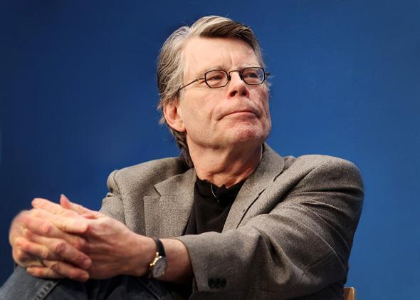 Stephen King, November 7, 2011 in Boston, Massachusetts.