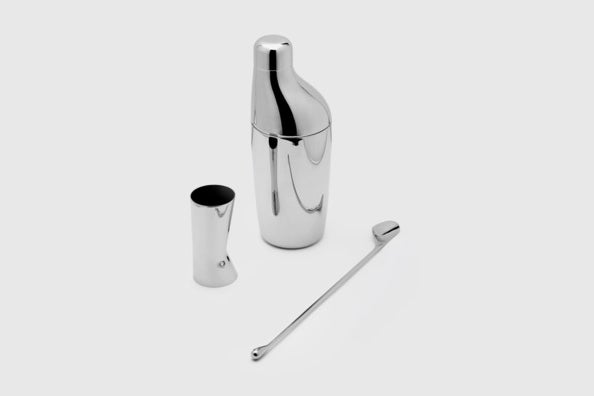 Georg Jensen Sky Cocktail Shaker Set.