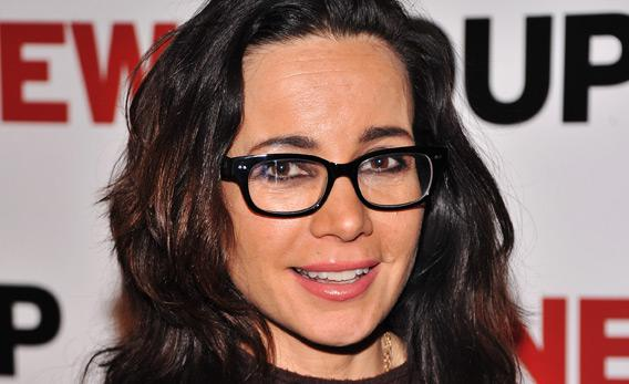 Actress Janeane Garofalo.