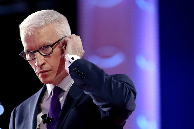 CNN anchor Anderson Cooper.