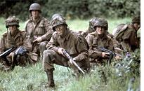 A scene from Band of Brothers
