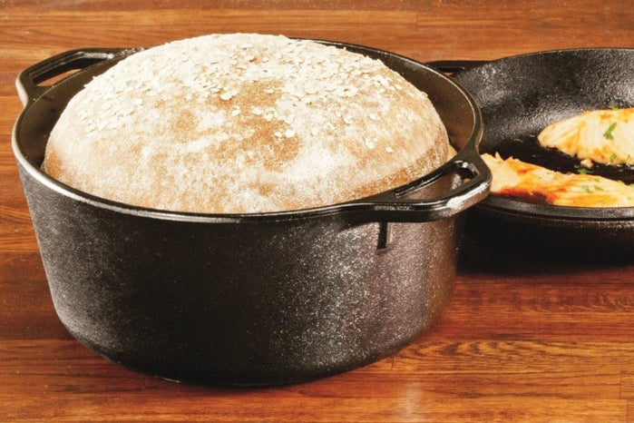 This $35 Cast-iron Pot Makes No-Knead Bread a No-brainer