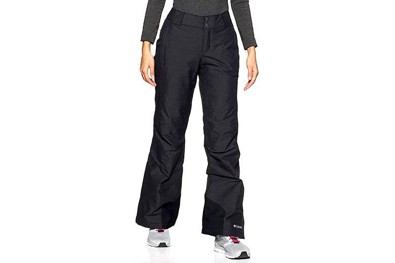 Columbia snow pants in black.
