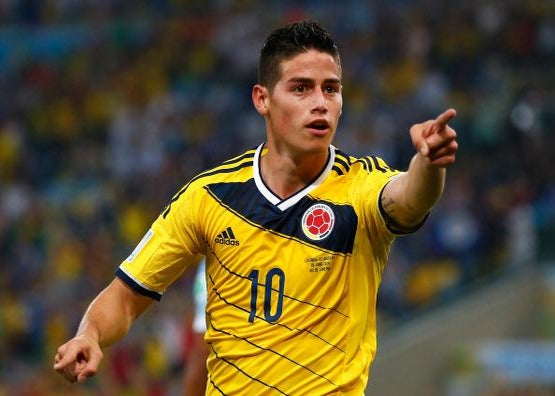 innovative design 04c88 fe6d8 Meet King James Rodriguez of Colombia, the 2014 World Cup's ...