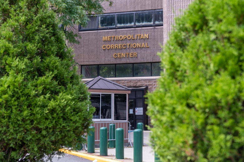 The Metropolitan Correctional Facility, where Jeffrey Epstein was found dead in his jail cell, is seen on August 10, 2019 in New York City.