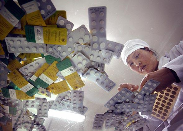 malaria Chinese companies.