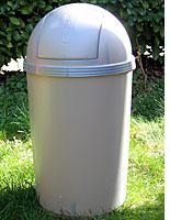 Rubbermaid Bullet Wastebasket