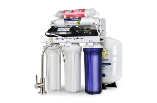 iSpring filtration system.
