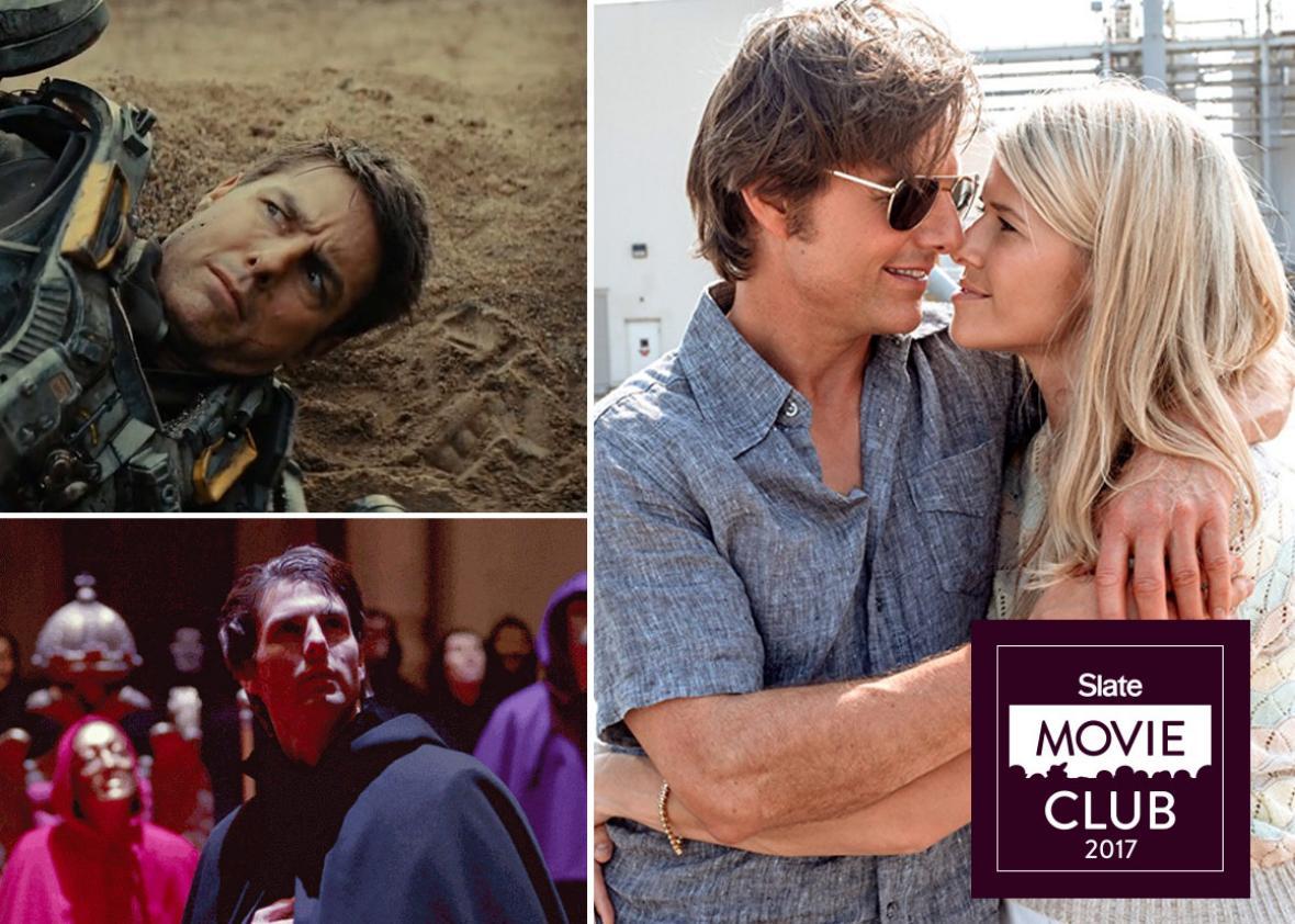 Tom Cruise in American Made, Eyes Wide Shut and Edge of Tomorrow