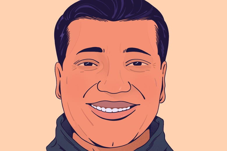 36-year-old man smiling