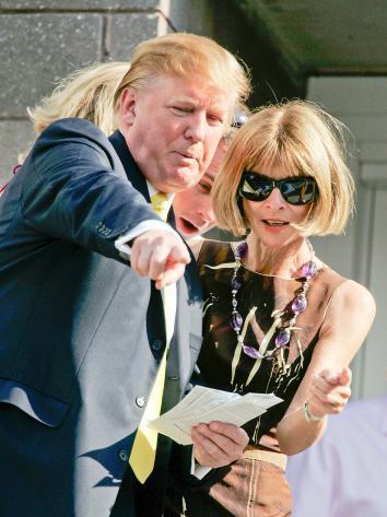Trump Wintour