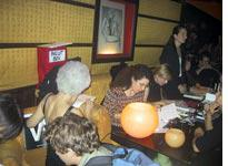 Democrats register to vote at Man Ray, a Paris nightclub