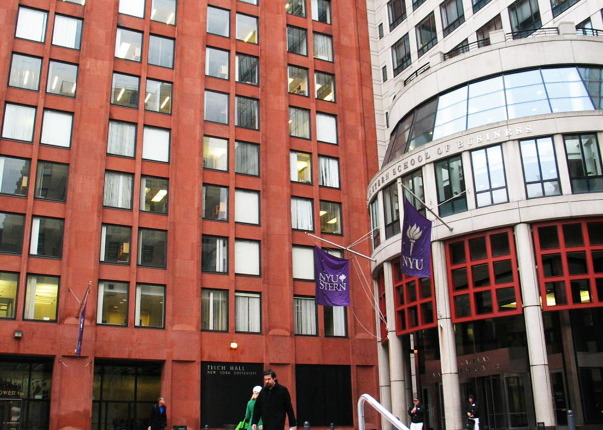 NYU Stern School of Business, Tisch School of Arts.