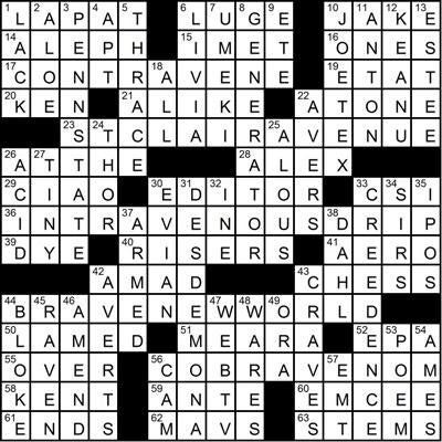 How could two crossword constructors come up with puzzles ...