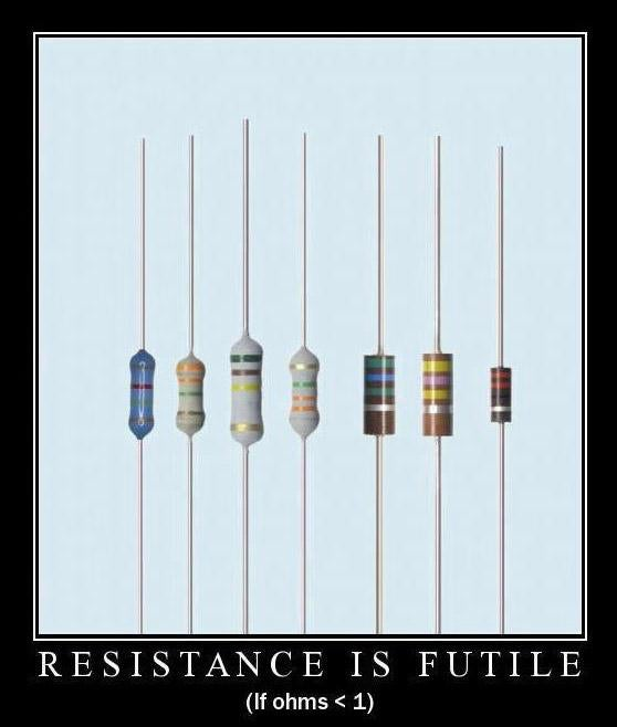 Resistance is fuitile