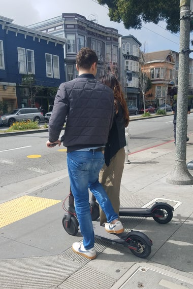 """We cannot overstate the public safety hazard that operating motorized scooters pose on City sidewalks."""
