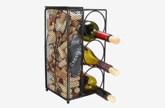 Home-X Keepsake Wine Cork Holder.