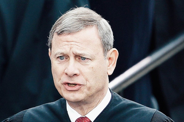 Supreme Court Chief Justice John Roberts on Jan. 20, 2017, in Washington.